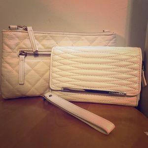 DCBG, Small white and silver purse-set